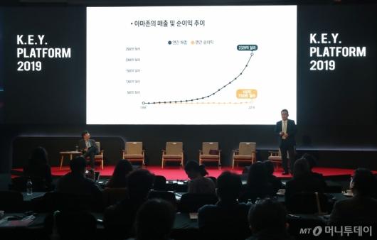 [사진]유효상 교수, 2019 키플랫폼 폐막특강