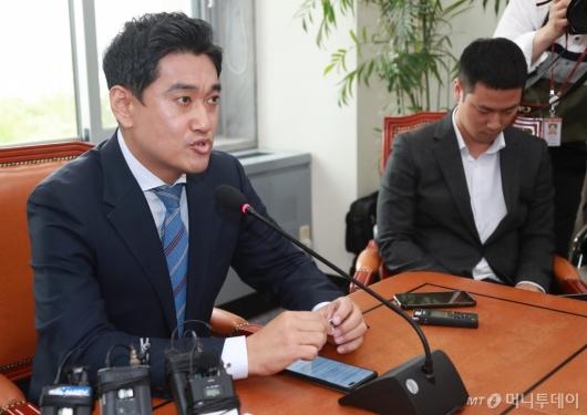 [사진]기자회견하는 오신환 의원