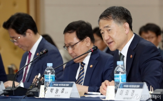[사진]모두발언하는 박능후 장관