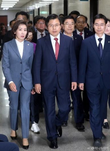 [사진]국회 찾은 황교안 대표