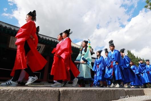[사진]급제자들의 유가행렬