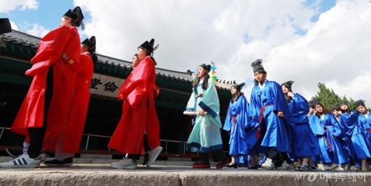 [사진]'급제자들의 유가행렬'