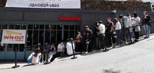[사진]국내 팝업스토어 오픈한 '인앤아웃'