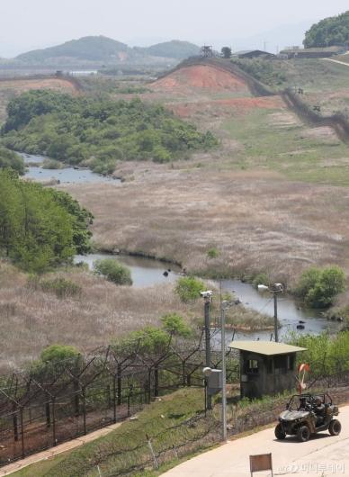 [사진]비무장지대에 흐르는 역곡천