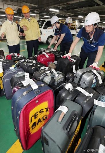 [사진]인천공항 위기대응 훈련 참석한 구본환 사장