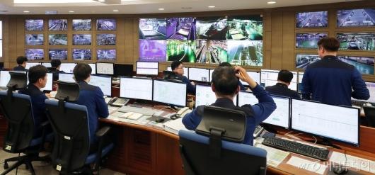 [사진]'인천공항 수하물처리 시스템 장애 대응 훈련'