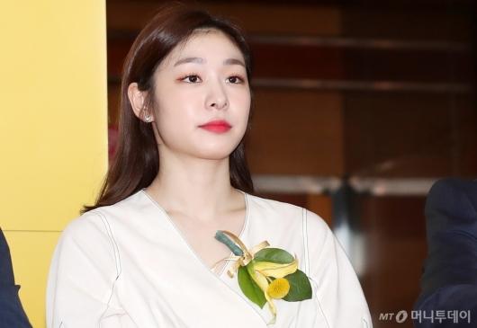 [사진]김연아, '취업박람회 축하합니다'