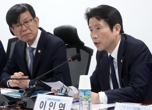 [사진]이인영, 장기점포의 안정적 운영을 위해