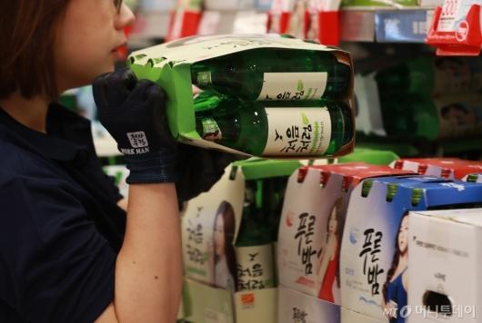 [사진]6월부터 소주-맥주 가격 인상