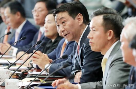 [사진]환영사하는 권용원 금투협회장