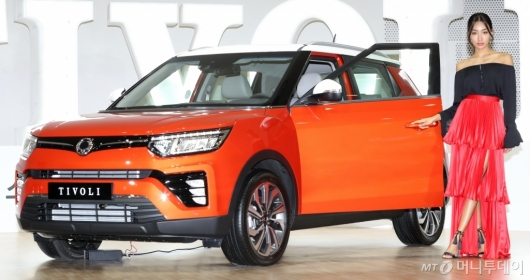 [사진]소형 SUV '베리 뉴 티볼리' 출시