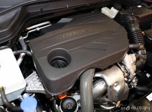 [사진]'베리 뉴 티볼리' 새롭게 탑재된 1.5 터보 엔진