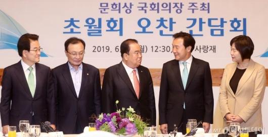 [사진]황교안 대표 빠진 초월회