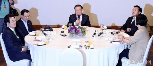 [사진]자유한국당 빠진 초월회