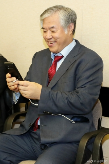 [사진]미소 짓는 전광훈 목사