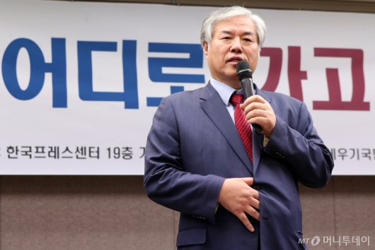 [사진]발언하는 전광훈 목사