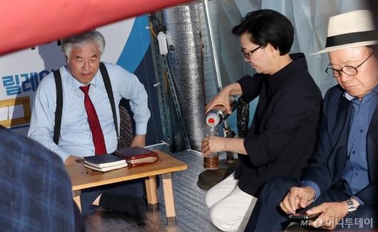 [사진]릴레이 단식 돌입한 전광훈 목사
