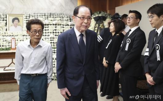 [사진]고 이희호 여사 빈소 찾은 권영길 전 의원