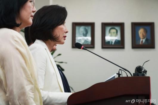 [사진]나경원 '경제폭망 청문회부터'