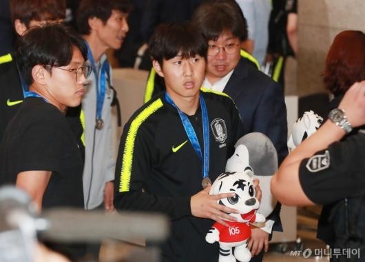 [사진]귀국하는 '골든볼' 이강인