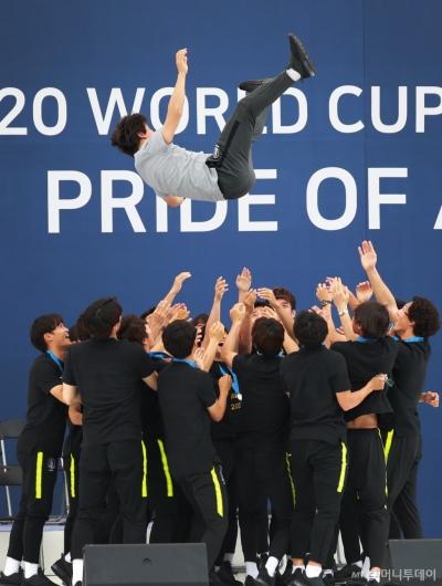 [사진]'한국 축구 높이 더 높이'