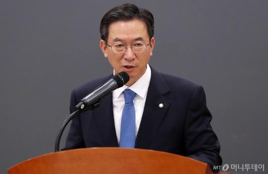 [사진]축사 하는 정성호 국회 기획재정위원장