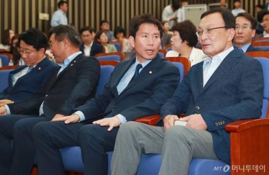 [사진]민주당, 한국당 뺀 국회 소집 당론 결정