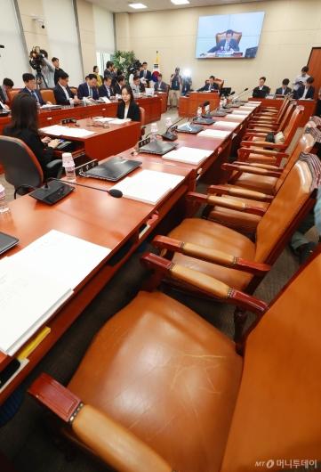[사진]'자유한국당 빈자리'