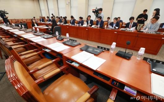 [사진]'한국당 빈자리'