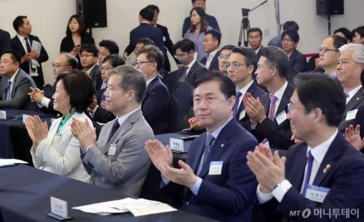 [사진]2019 대한민국 수소엑스포 참석한 내빈들