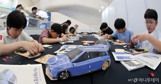 [사진]'자율주행 자동차 만들면 내거!'