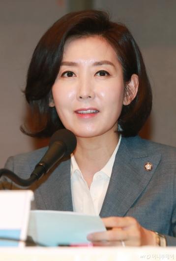 [사진]관훈토론회 기조연설하는 나경원 원내대표