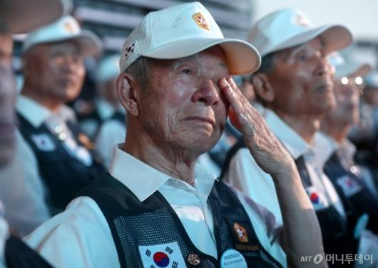 [사진]6.25 전쟁 생각하니 눈물이