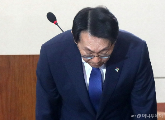 [사진]청문회 임하는 김현준 후보자