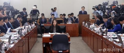 [사진]자유한국당 참석한 인사청문회