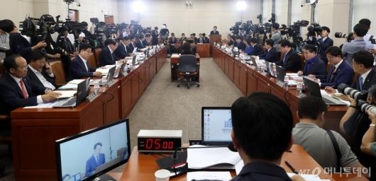 [사진]자유한국당 참석한 김현준 인사청문회