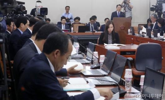 [사진]김현준 인사청문회 자유한국당 참석