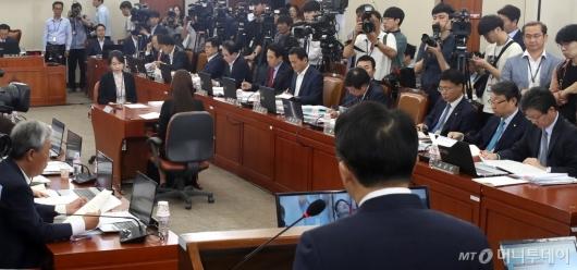 [사진]자유한국당, 김현준 인사청문회 참석