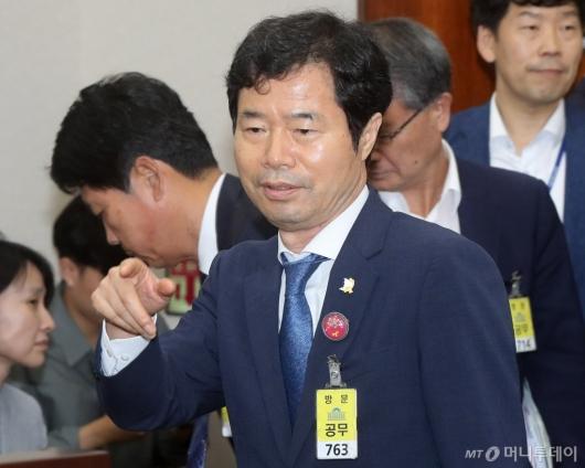 [사진]국회 찾은 김승환 전북교육감