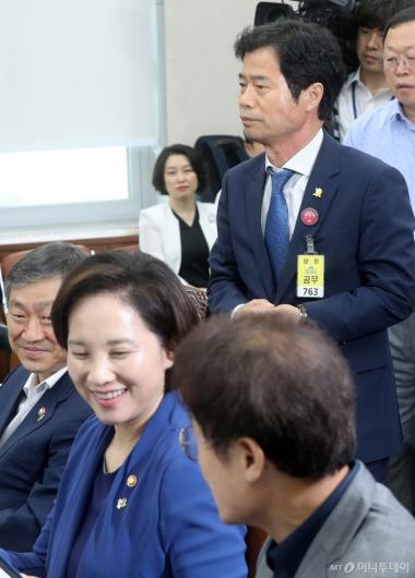 [사진]김승환 전북교육감, 무거운 표정