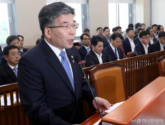 [사진]현안보고하는 민갑룡 경찰청장