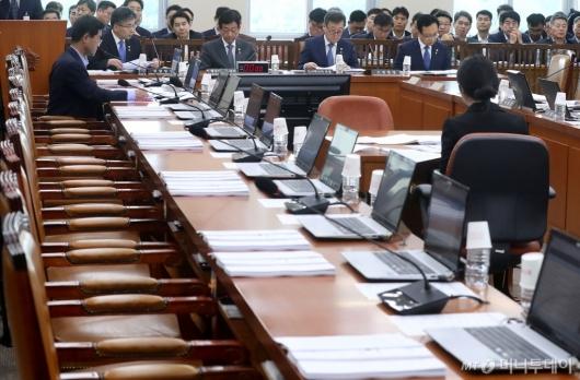 [사진]행안위 불참한 자유한국당