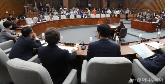 [사진]사개특위, 자유한국당 불참
