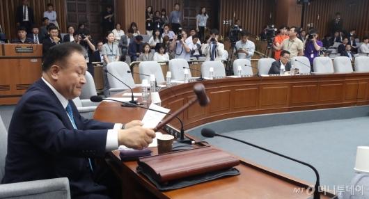 [사진]의원들 빈자리 가득한 사개특위