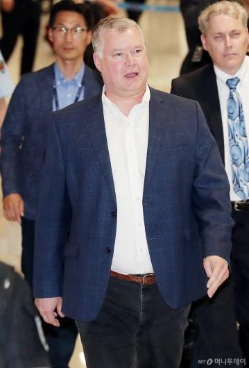 [사진]한·미 정상회담 앞두고 방한한 스티븐 비건
