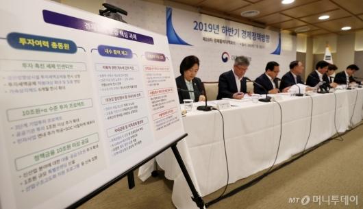 [사진]하반기 경제정책 방향 발표
