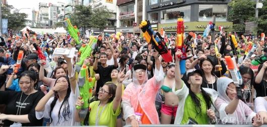 [사진]신나는 '물총축제'
