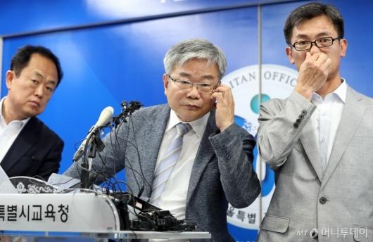 [사진]질문 듣는 박건호 교육정책국장