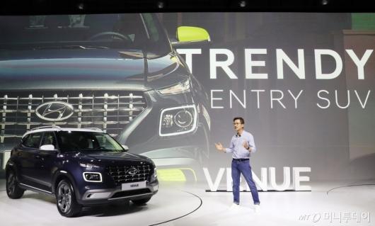 [사진]현대차, 소형 SUV '베뉴' 국내 출시