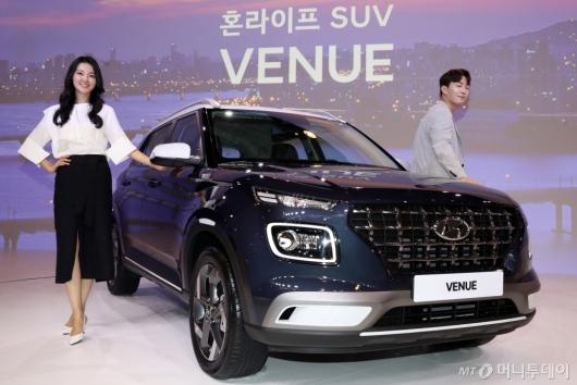[사진]현대차, 소형 SUV '베뉴' 공식 출시
